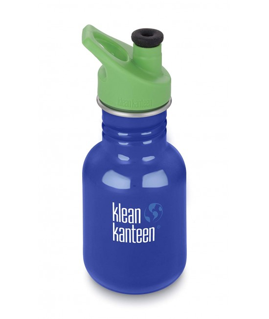 Recipient 355 ml Kid Classic Sport (Capac Green Sport) Coastal Waters, Klean Kanteen
