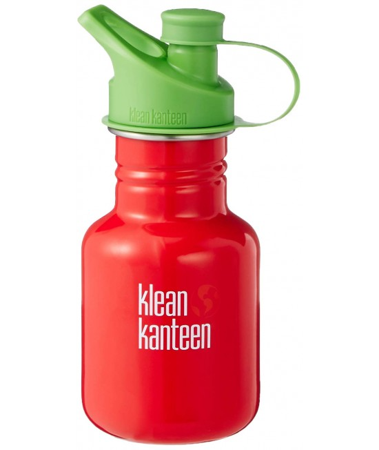 Recipient 355 ml Kid Classic Sport (Capac Green Sport) Mineral Red, Klean Kanteen