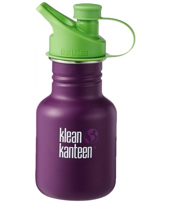Recipient 355 ml Kid Classic Sport (Capac Green Sport) Winter Plum, Klean Kanteen
