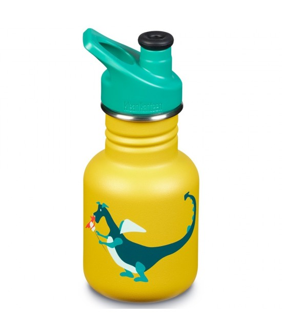 Recipient 355 ml Kid Classic Sport, Dragon Snack, Klean Kanteen