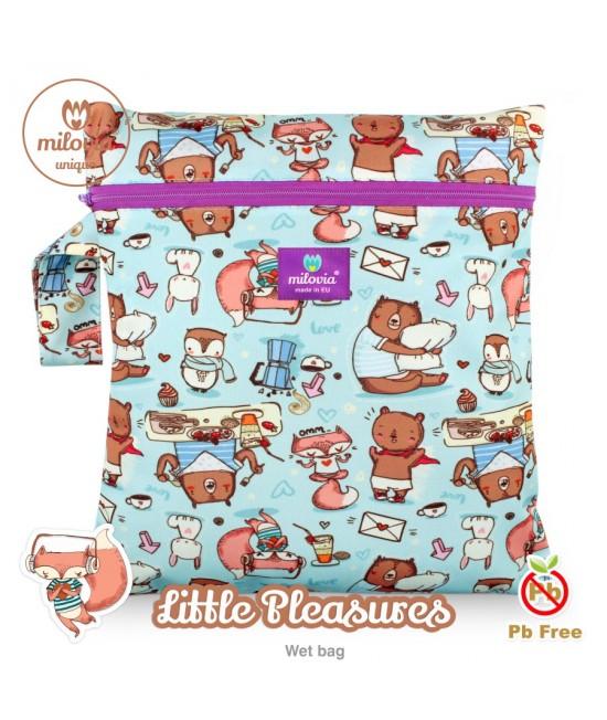 Săculeț pentru depozitarea scutecelor textile (Wet Bag) Milovia Little Pleasures Unique