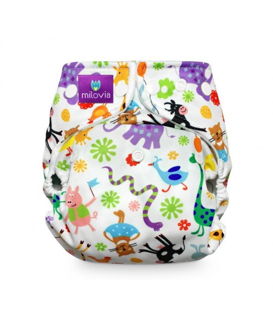 Scutec refolosibil AI2 (cover + inserturi) Milovia Happy Animals