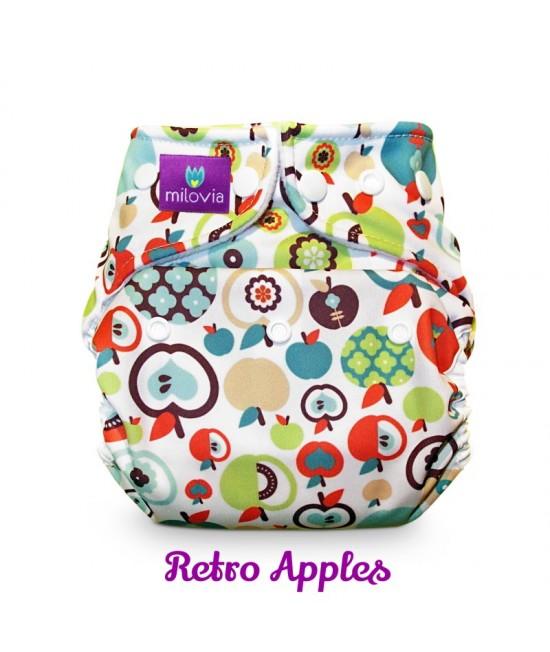 Scutec refolosibil AI2 (cover + inserturi) Milovia Retro Apples