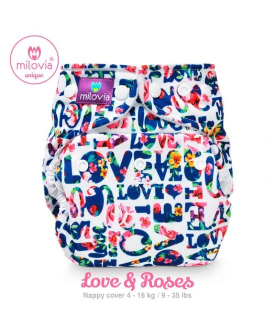 Scutec refolosibil AI2 (cover + inserturi) Milovia Love & Roses