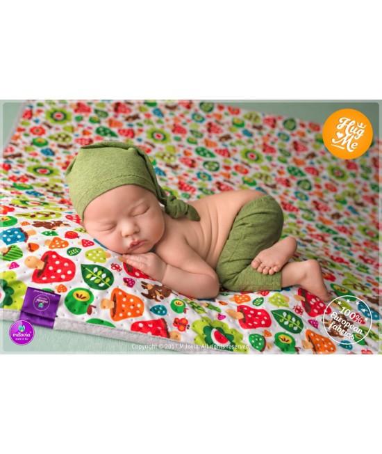 Pătură Milovia Dotness Toadstools S - hipoalergenică punctată 70 x 70 cm