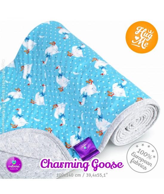 Pătură Milovia Dotness Charming Goose S - hipoalergenică punctată 70 x 70 cm