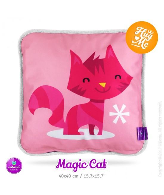 Pernă Milovia Magic Cat - hipoalergenică cu husă detașabilă