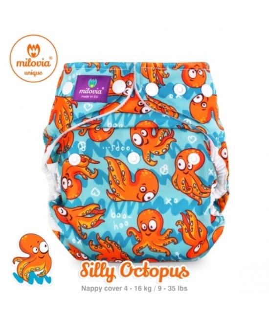 Scutec refolosibil AI2 (cover + inserturi) Milovia Silly Octopus