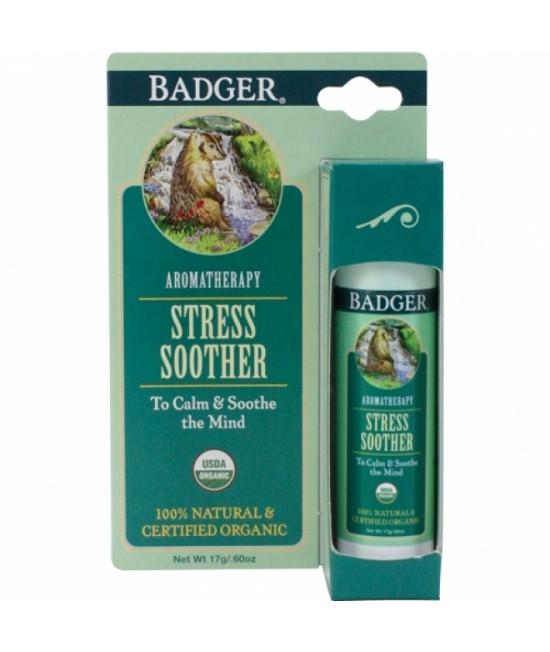 Balsam aromaterapie Badger Tension Soother pentru calmarea stresului - 17 g