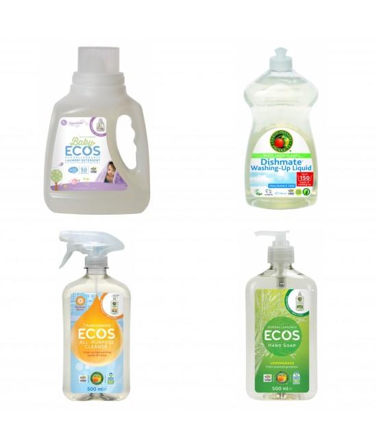 Pachet ECOS - curățenie sănătoasă