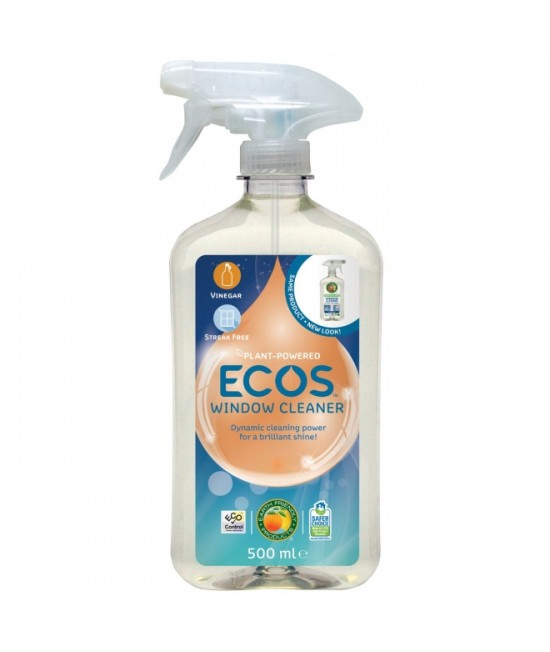 Detergent ecologic pentru geamuri - soluție cu oțet Earth Friendly Products