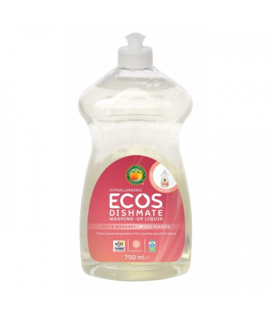 Detergent ecologic pentru vase Earth Friendly Products - cu miros de grapefruit