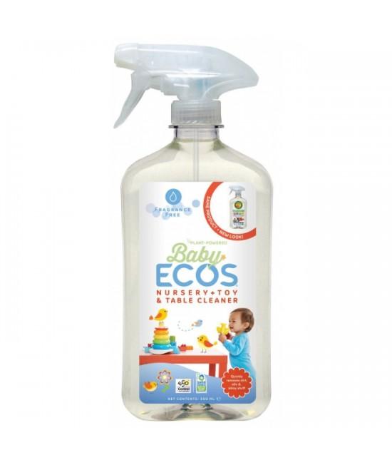 Dezinfectant ecologic - Soluție pentru jucării și camera bebelușului Earth Friendly Products - fără miros