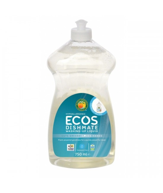 Detergent ecologic pentru vase - soluție fără miros Earth Friendly Products