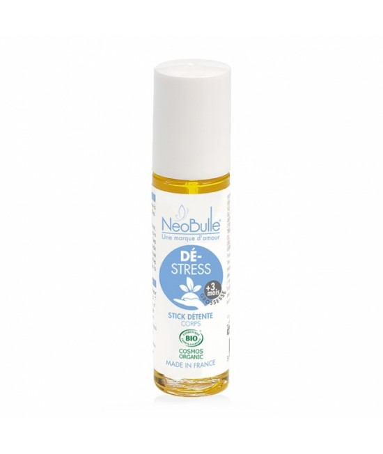 Stick/roll-on Neobulle pentru eliberarea stresului cu uleiuri esențiale pure organice