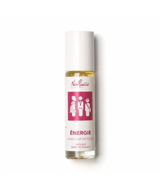Stick/roll-on Neobulle pentru energie - Alungă oboseala prin uleiuri esențiale pure organice