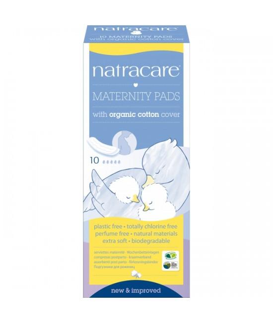 Absorbante naturale pentru lăuzie Natracare - 10 bucăți