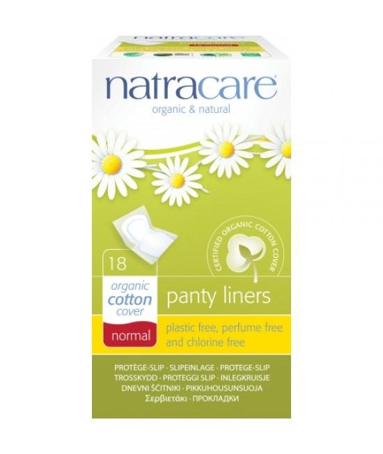 Absorbante zilnice naturale bio protej-slip breathable Natracare - panty-liner de zi cu zi - ambalate individual - 18 bucăți