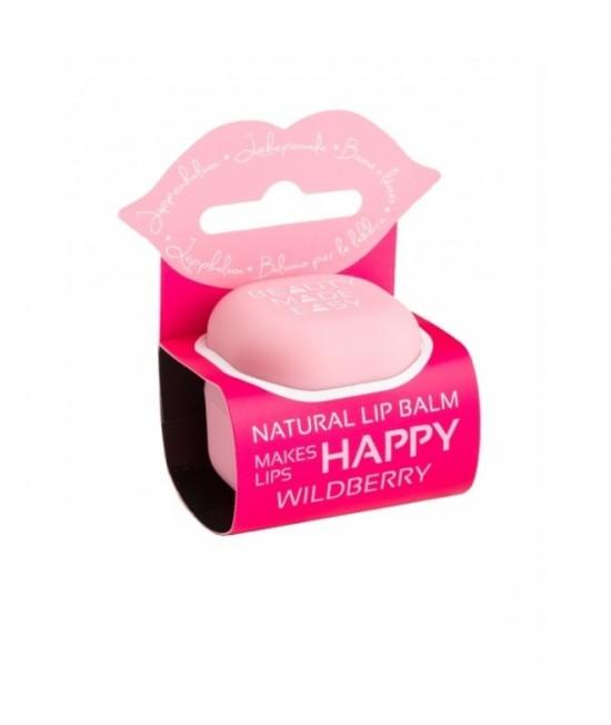 Balsam natural pentru buze Beauty Made Easy cu fructe de pădure