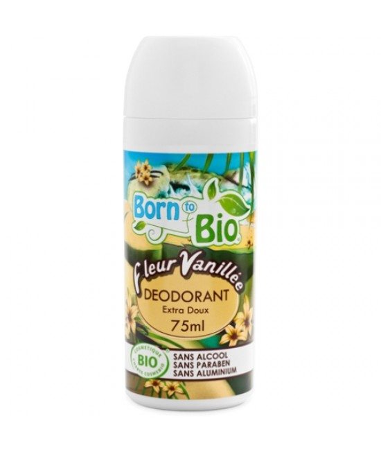 Deodorant organic Born to Bio roll-on Vanilie