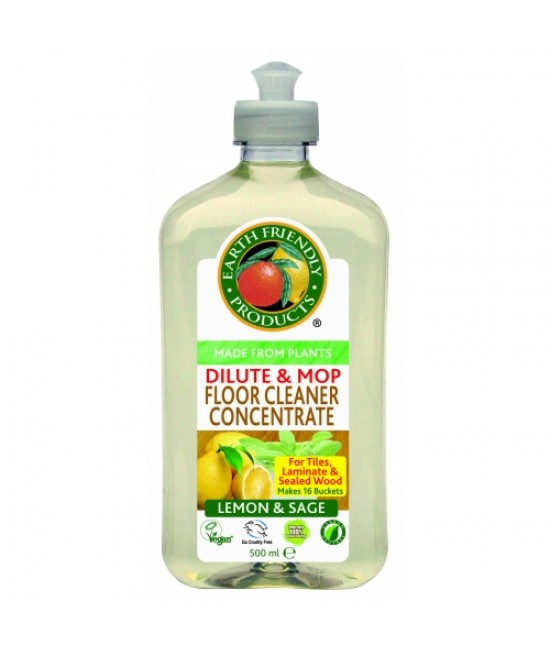Detergent ecologic pentru podele - soluție superconcentrată Earth Friendly Products 500 mL = 65 L