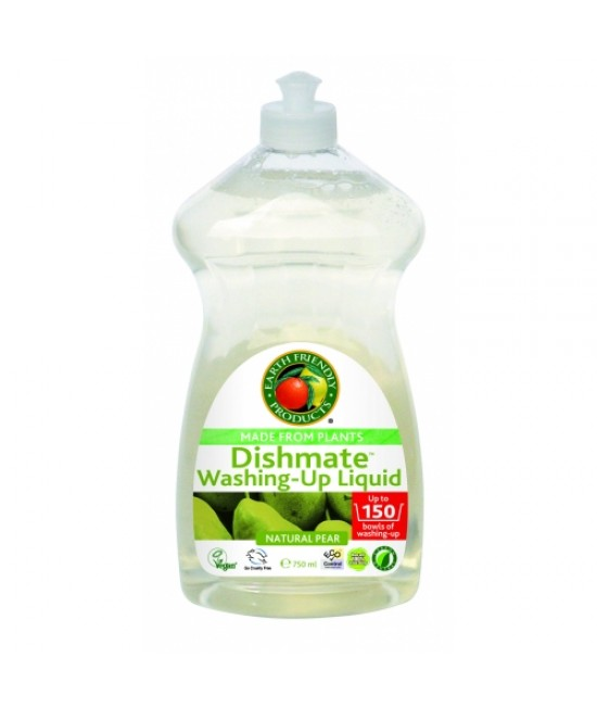 Detergent ecologic pentru vase Earth Friendly Products - cu miros de pere