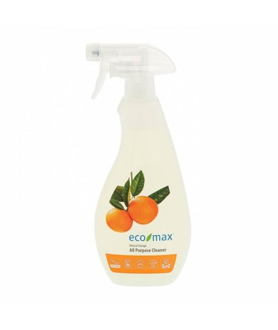 Soluție ecologică universală Ecomax pentru toate suprafețele - cu portocală - 710 ml