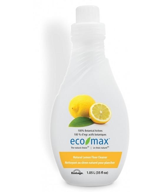 Soluție ecologică concentrată Ecomax pentru podele, lemn și parchet - cu lămâie - 1,05 litri