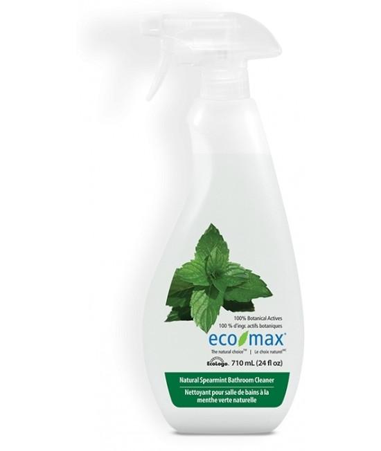Soluție ecologică Ecomax pentru baie (gresie și alte suprafețe dure) - cu mentă - 710 ml