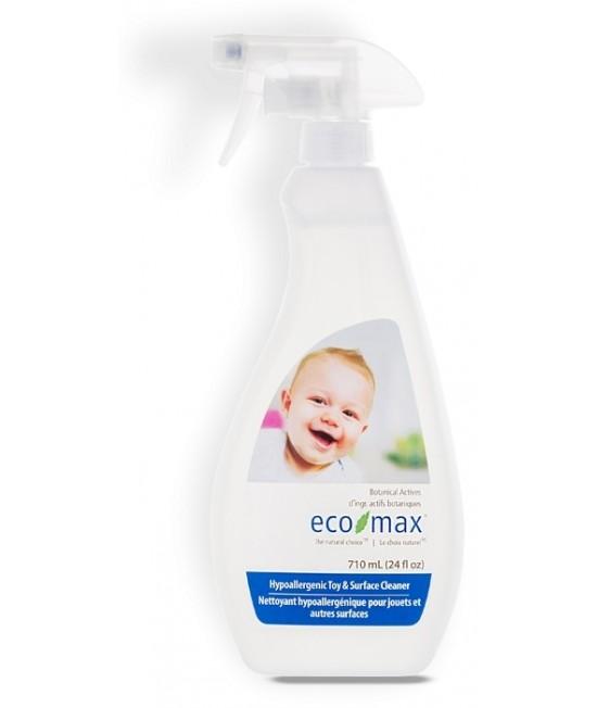 Soluție ecologică hipoalergenică Ecomax de curățat jucării și camera bebelușului - fără parfum - 710 ml