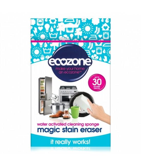 Burete Magical Stain Ecozone universal pentru curățarea suprafețelor doar cu apă (2 bucăți)