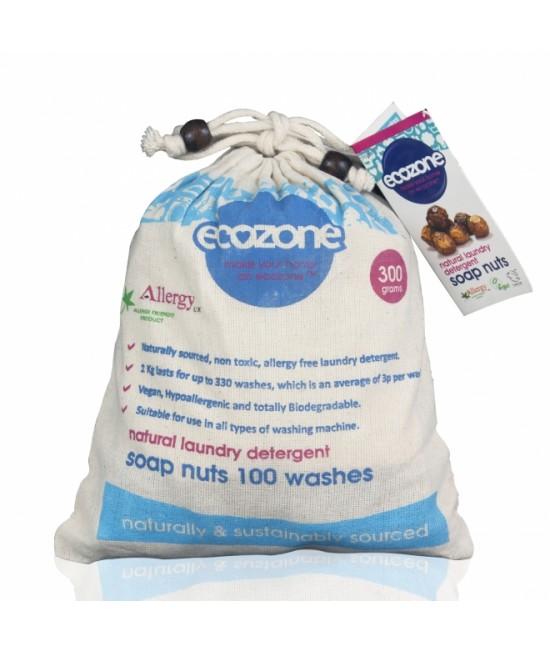 Nuci de săpun BIO Ecozone - pentru 100 de spălări naturale - 300 grame