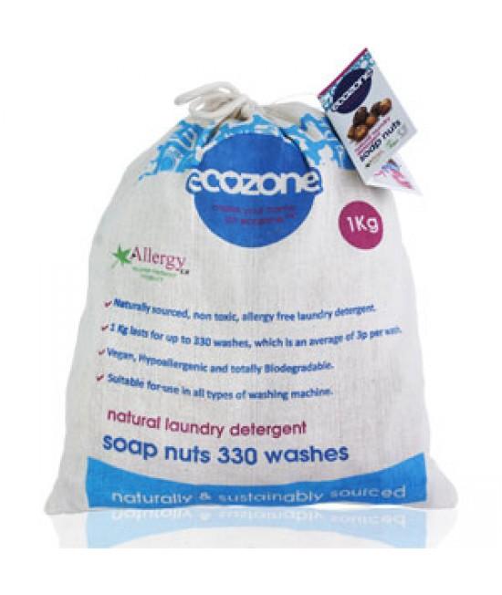 Nuci de săpun BIO Ecozone - pentru 330 de spălări naturale - 1 kg