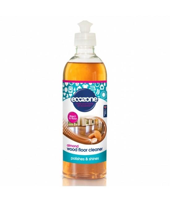 Soluție Ecozone cu migdale pentru curățat parchetul și podelele din lemn (polish) - 750 ml