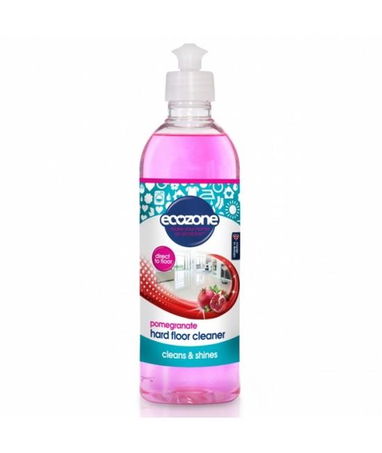 Soluție Ecozone cu rodie pentru curățat podele dure (gresie, linoleum, granit, dale) - 500 ml