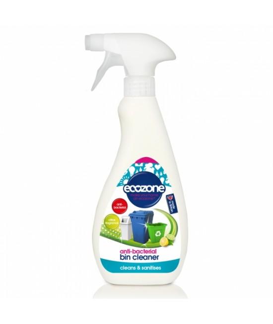 Soluție igienizantă antibacteriană Ecozone cu citrice pentru curățarea pubelelor - 500 ml