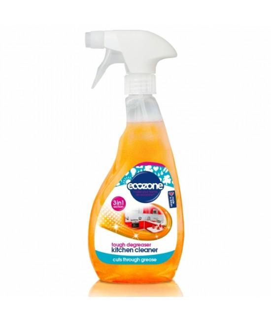 Soluție Ecozone super degresantă pentru curățat bucătăria 3-în-1 - 500 ml