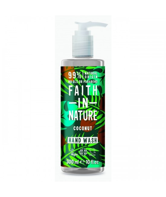 Săpun natural lichid cu cocos Faith in Nature - 300 ml