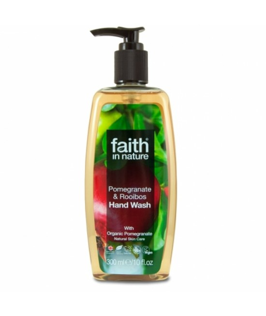 Săpun natural lichid cu rodie și rooibos Faith in Nature - 300 ml