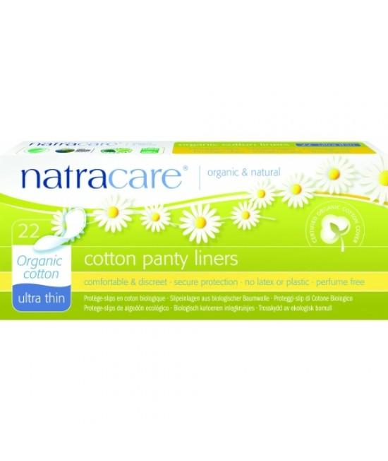 Absorbante zilnice naturale BIO protej-slip ultra-subțiri Natracare - panty-liner de zi cu zi - 22 bucăți - cu bumbac organic