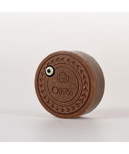 Săpun Olivos Amuleta norocoasă - Ochiul Magic - cu vanilie și ulei de măsline, cu efect anti-îmbătrânire - 100 g