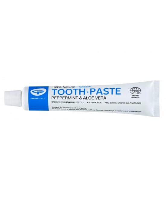 Pastă de dinți Green People naturală organică pentru adulți - cu mentă