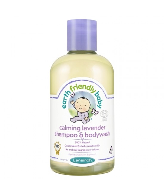Șampon și gel de duș bio levănțică Earth Friendly Baby
