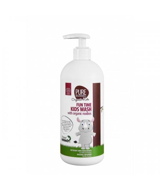 Șampon și gel de duș organic cu rooibos - Pure Beginnings - pentru copii