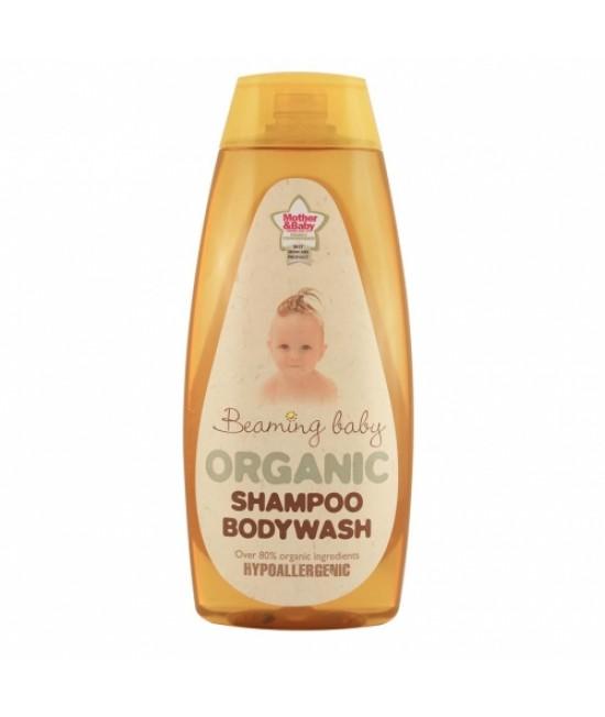 Șampon și gel de duș bio Beaming Baby