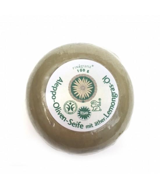 Săpun de Alep cu lemongrass antiperspirant - Finigrana Alep