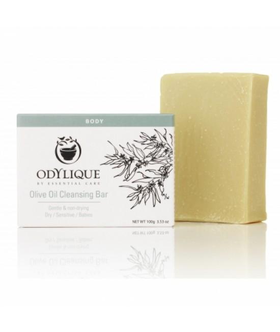Săpun natural organic hidratant cu ulei de măsline Essential Care pentru piele sensibilă - fabricat manual