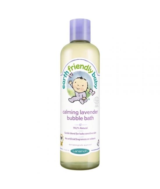 Spumă de baie bio cu levănțică Earth Friendly Baby - pentru bebeluși
