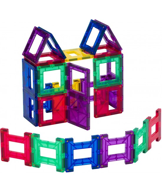 Set Playmags - 24 piese magnetice de construcție