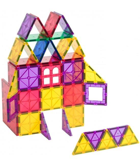 Set Playmags - 60 piese magnetice de construcție